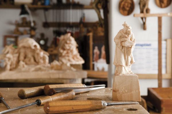 Mercatini Originali: sono in Val Gardena gli artisti dei presepi